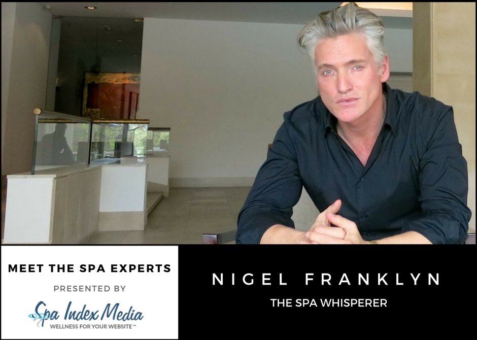 Meet The Spa Experts: Nigel Franklyn
